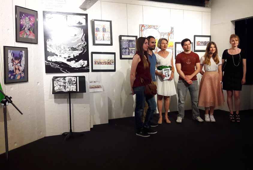 photo laureats vernissage toto moko
