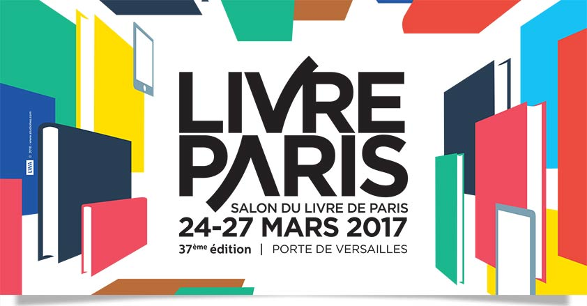 "affiche du salon ""livreparis"" 2017"