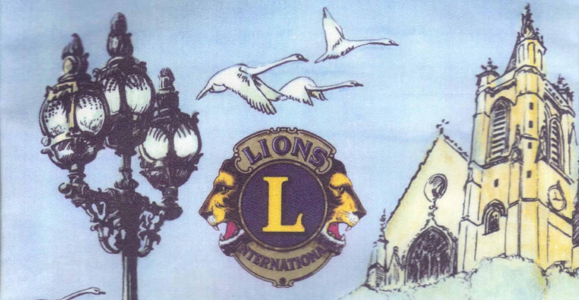image partielle du logo lions club Enghein les Bains
