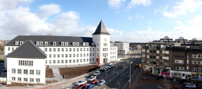 photo de la ville de Moers en Allemagne